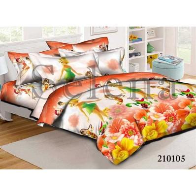 Комплект постельного белья Selena подростковое ранфорс 210105 Феи 2