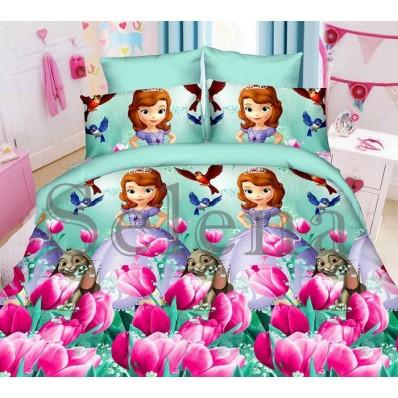 Комплект постельного белья Selena подростковое ранфорс 210107 София Прекрасная