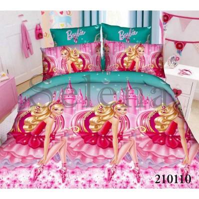 Комплект постельного белья Selena подростковое ранфорс 210110 Барби