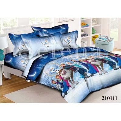 Комплект постельного белья Selena подростковое ранфорс 210111 Холодное Сердце