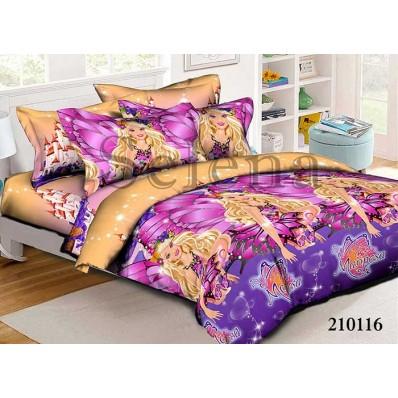 Комплект постельного белья Selena подростковое ранфорс 210116 Марипоса