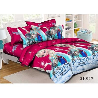 Комплект постельного белья Selena подростковое ранфорс 210117 Холодное Сердце 3