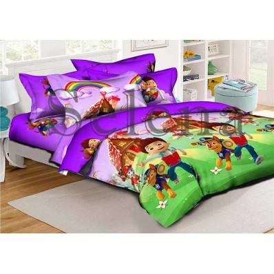 Комплект постельного белья Selena подростковое ранфорс 210201 Патруль