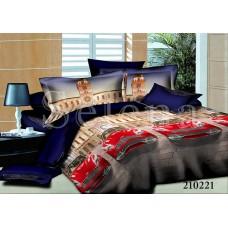 Постельное белье Selena подростковое ранфорс 210221 Авто-Мини