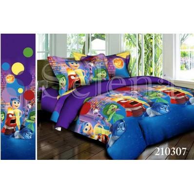 Комплект постельного белья Selena подростковое ранфорс 210307 Головоломка