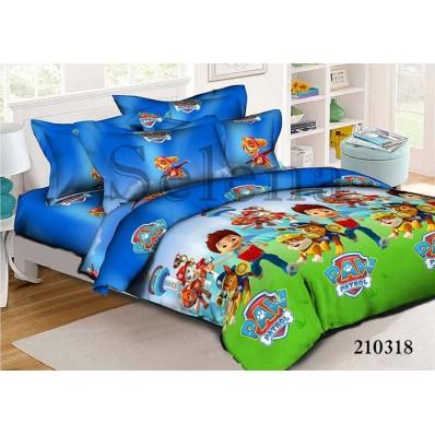 Комплект постельного белья Selena подростковое ранфорс 210318 Щенячий Патруль 4