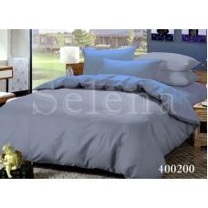 Постельное белье Selena поплин 400200 Серый