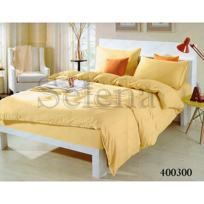 Комплект постельного белья Постельное белье Selena поплин 400300 Ванильный