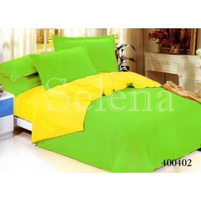 Комплект постельного белья Selena поплин 400402 Салатово-Желтый