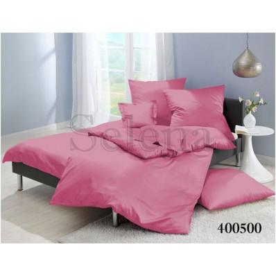 Комплект постельного белья Selena поплин 400500 Розовый