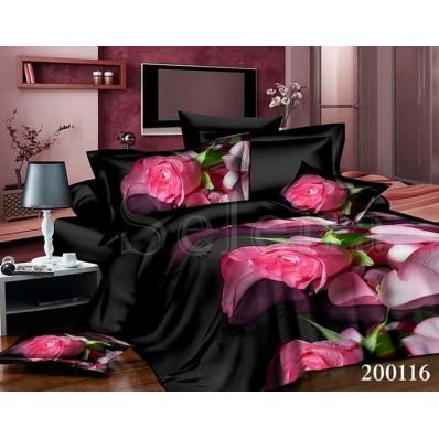 Комплект Постельное белье Selena ранфорс 200116 Гламур