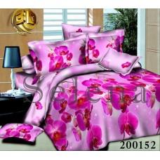 Постельное белье Selena ранфорс 200152 Орхидея Розовая