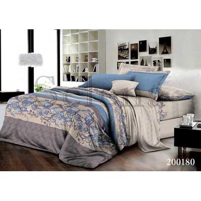 Комплект постельного белья Selena ранфорс 200180 Сандра