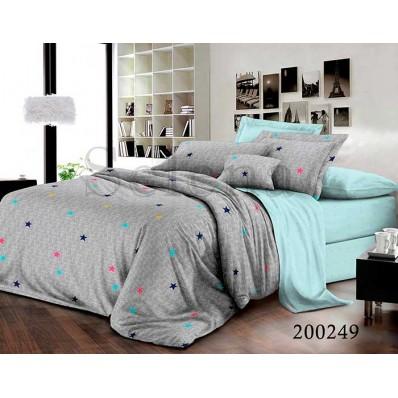 Постельное белье Selena ранфорс 200249 Звездочки