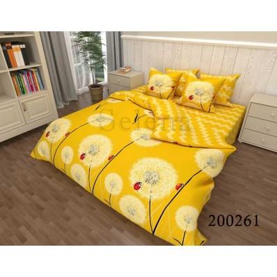 Постельное белье Selena ранфорс 200261 Солнечные Одуванчики
