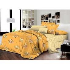 Постельное белье Selena ранфорс 200264 Желтые Цветочки