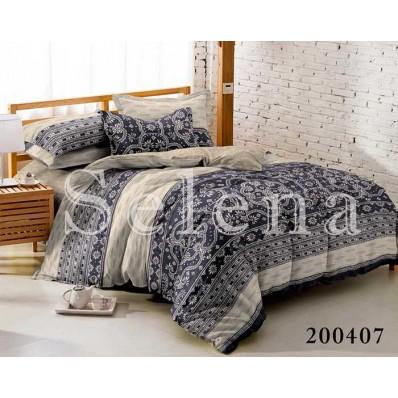 Комплект постельного белья Selena ранфорс 200407 Лапландия