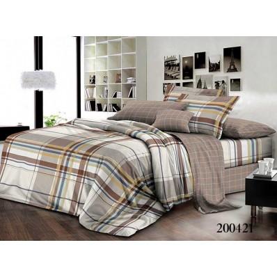 Комплект постельного белья Selena ранфорс 200421 Амаретто