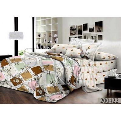 Комплект постельного белья Selena ранфорс 200422 Милано