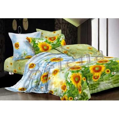Комплект постельного белья Постельное белье Selena ранфорс 200424 Подсолнухи