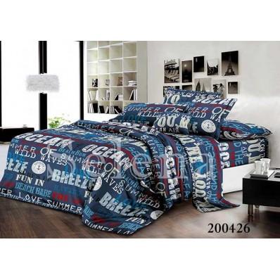 Комплект постельного белья Selena Ранфорс 200426 Океан