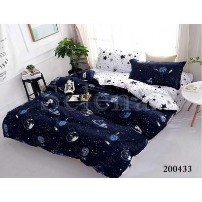 Комплект Постельного белья Selena ранфорс 200433 Галактика