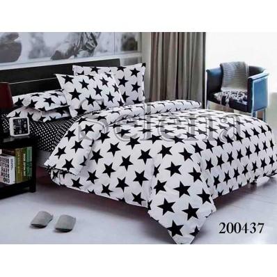 Комплект Постельное белье Selena ранфорс 200437 Звездный бум