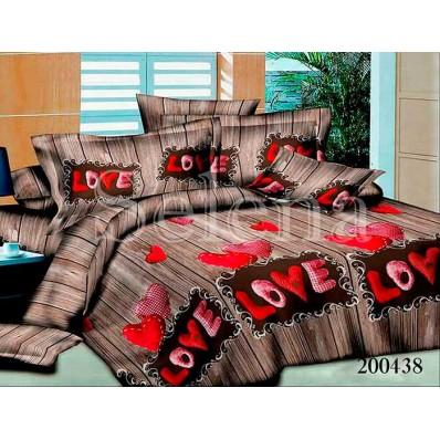 Комплект Постельное белье Selena ранфорс 200438 Love