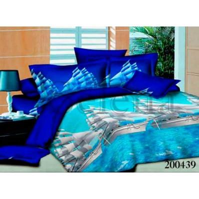 Комплект Постельное белье Selena ранфорс 200439 Парусник
