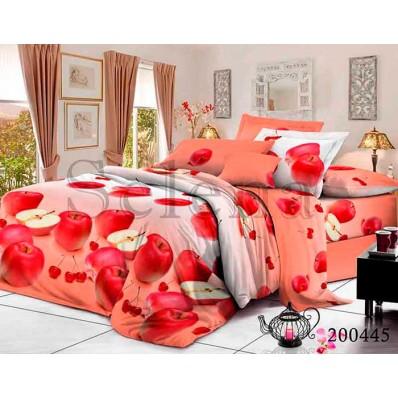 Комплект Постельное белье Selena ранфорс 200445 Яблочный Микс