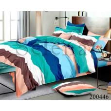 Постельное белье Selena ранфорс 200446 Разноцветные Полосы