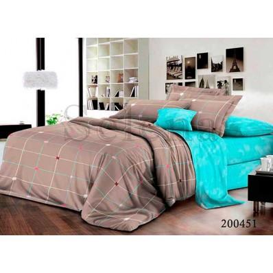 Комплект Постельное белье Selena ранфорс 200451 Веселые Клеточки