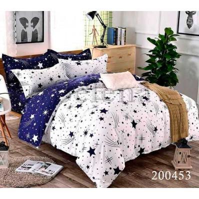 Комплект Постельное белье Selena ранфорс 200453 Россыпь Звезд