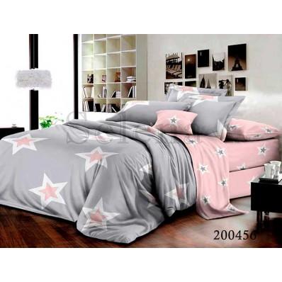 Комплект Постельное белье Selena ранфорс 200456 Звезды Амура
