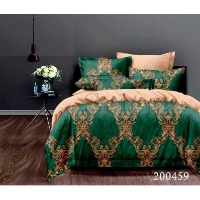Комплект Постельное белье Selena ранфорс 200459 Малахитовый Замок