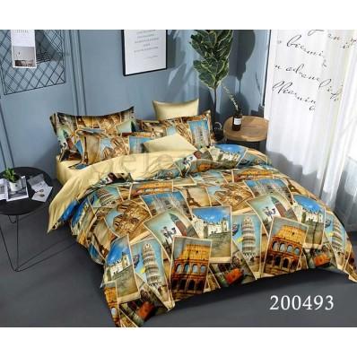 Постельное белье Selena ранфорс 200493 Европейский Тур