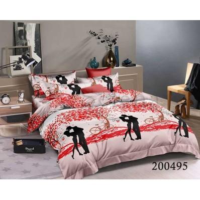 Постельное белье Selena ранфорс 200495 Свидание БК