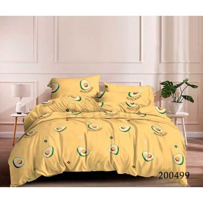 Постельное белье Selena ранфорс 200499 Авокадо Желтое БК