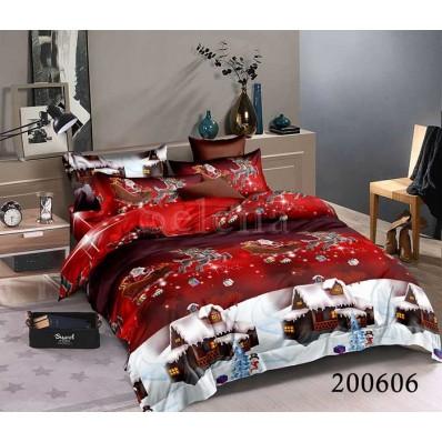 Постельное белье Selena ранфорс 200606 Новогоднее Волшебство