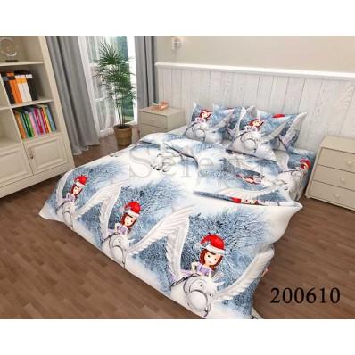 Постельное белье Selena ранфорс 200610 Зимняя Сказка