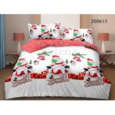 Постельное белье Selena ранфорс 200615 Merry Christmas