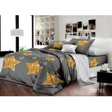 Постельное белье Selena ранфорс 200701 Золотые Звезды