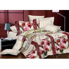 Постельное белье Selena сатин 300101 Орхидея