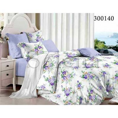 Комплект Постельного белья Selena сатин 300140 Гармония