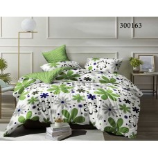 Постельное белье Selena сатин 300163 Зеленая лужайка