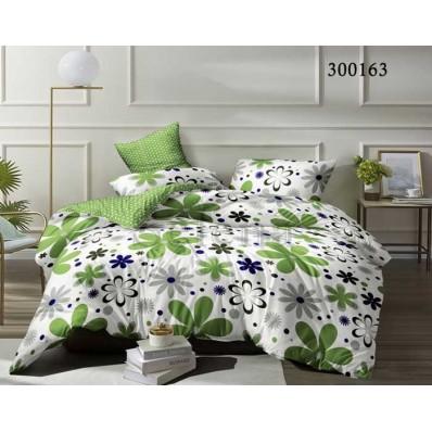Комплект Постельное белье Selena сатин 300163 Зеленая лужайка