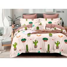 Постельное белье Selena сатин 300176 Парад Кактусов