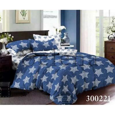 Комплект постельного белья Selena сатин 300221 Танго Звезд