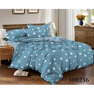 Комплект Постельного белья Selena сатин 300236 Звездопад