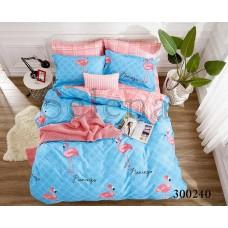 Постельное белье Selena сатин 300240 Розовый Фламинго